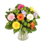 Букет цветов из гербер